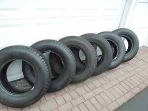 6 Used Michelin Ltx M S 225 75 16 Tires 5k Miles