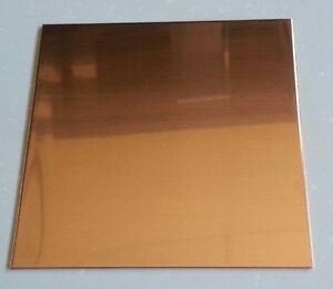 Copper Sheet Plate 0431 32oz 18 Gauge 6 X 12