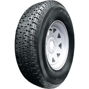 4 New Omni Trail St Radial St 205 75r15 Load D 8 Ply Trailer Tires