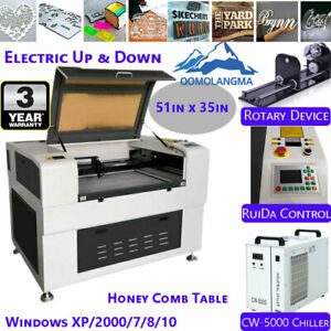 51in X 35in 130w Co2 Laser Cutter Engraving Cutting Machine Honey Comb Table Fda