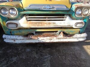1959 1958 Chevy Truck Viking 60 Grill Solid