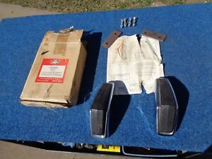 Nos 1965 1966 Ford Fairlane 500 Falcon Mercury Comet Bumper Gaurds 1967