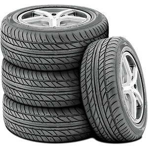 4 New Ohtsu by Falken Fp7000 225 60r15 96h Performance A s Tires