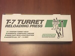 Redding T 7 Turret Reloading Press w Primer Arm NIB 67000 $525.00