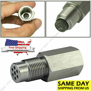 O2 Oxygen Sensor Spacer Engine Light Adapter Bung Catalytic Converter Fix Check