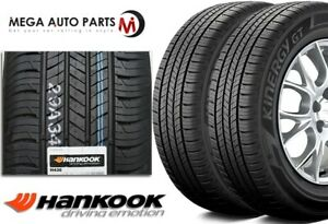 2 Hankook Kinergy Gt H436 All Season 205 60r16 92h 70 000 Mile Touring Tires