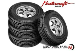 4 Mastercraft Courser Hxt Lt275 70r18 125s E 10 All Season Commercial Tires