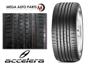 1 New Accelera Phi 2 255 30zr21 95w All Season Ultra High Performance Tires
