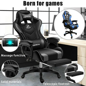 Gaming Chair High Back Swivel Computer Executive Racing Office Chairs Desk Seat