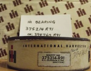 Nos International Farmall Ih Part 375214r91 Roller Bearing Transmission Shaft