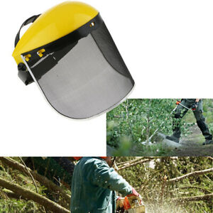 Adiustable Mesh Full Face Shield Chainsaw Forestry Labor Safety Visor