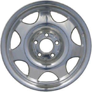 Oem Reman 16x7 Alloy Wheel Rim Light Silver Painted With Polished Face 65179