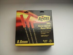 Accel 7040 Spark Plug Wires 8 8mm 300 Ferro spiral Race Chevy Ford