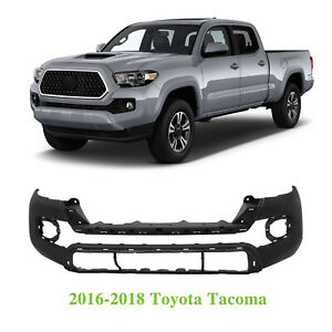 Front Bumper Cover For Toyota Tacoma 2016 2018 To1000415 5211904220 Capa