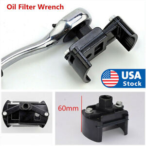 Auto Tool Oil Filter Wrench Cup 1 2 Housing Spanner Remover 60 80mm Adjustable