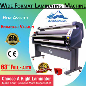 Usa Enhanced 63 Heat Assisted Cold Laminator Wide Format Laminting Machine