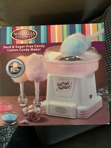 Nostalgia Electrics Candy Cotton Candy Maker Pink
