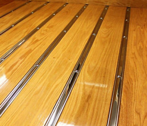 Bed Strips Chevy 1954 1959 Polished Stainless Gmc Chevrolet Short Bed Stepside