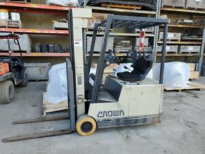 Crown Forklift Electric 35sctt 3250 Lb
