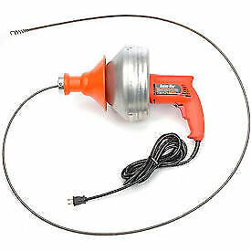 General Wire Sv d Super vee Drain sewer Cleaning Machine W 25 X 5 16 Cable
