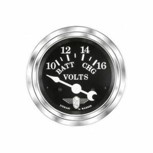 Stewart Warner 82482 Wings Voltmeter