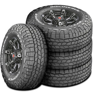 4 New Cooper Discoverer At3 Xlt Lt 295 70r17 Load E 10 Ply A t All Terrain Tires