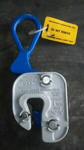 new Plate Lifting Clamp Campbell Gx Structural 1 T Grip 1 16 3 4 Inch