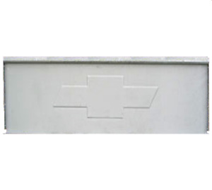 Front Bed Panel Chevrolet 1940 1945 Embossed Bowtie Chevy Stepside Truck