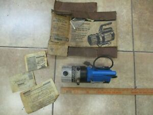 Robinair Cooltech High Performance Vacuum Pump 15234 used Tested And Works
