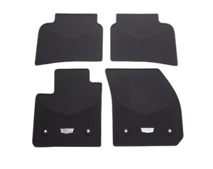 2019 2021 Cadillac Xt4 Front Rear All Weather Floor Mats 84119592 New Oem