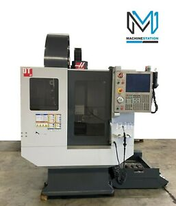Haas Dt 1 Drill Tap Vertical Machining Center 12 000 Rpm Cnc Mill 2011 Vf Ss