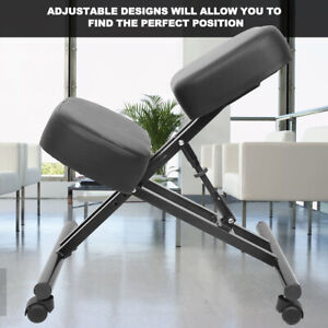 Ergonomic Kneeling Chair Desk Seat Adjustable Stool For Home And Office Relief
