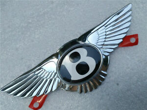 Bentley Continental Gt Gtc Flying Spur Emblem Front Grille Wing Badge New 1 Pc