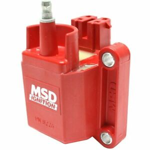 Msd 8226 Performance Gm Dual Connector Blaster E Core Ignition Coil 44 000 V