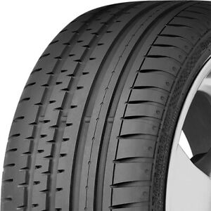 2 New Continental Contisportcontact 2 255 45r18 99y Performance Tires