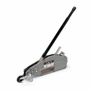 Jet Tools Series 1 1 2 Ton Capacity Grip Puller Hoist Lift W cable for Parts