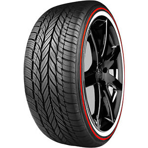 2 Vogue Tyre Custom Built Radial Viii Red Stripe 235 55r17 99h A s Performance
