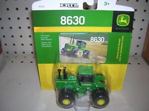 New John Deere 8630 Tractor With Duals Collector Card Included 1 64 lp64446