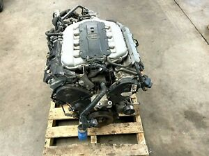 2009 2014 Acura Tl Sh awd 3 7l V6 Complete Engine Motor Assembly Lot490 Oem