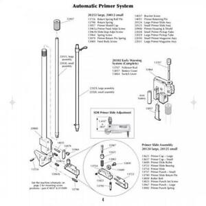 DILLON PRECISION SQUARE DEAL AUTOMATIC PRIMING SYSTEM TUBE ONLY PARTS # 22030 $25.89