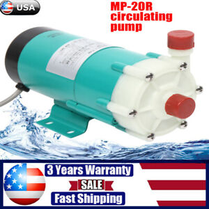 110v Magnetic Drive Water Pump Mp 20r Food Grade Industrial Pump Stainless