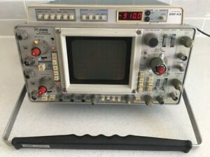 As Is Tektronix 466 Dm43 Storage Oscilloscope 2 Ch For Parts