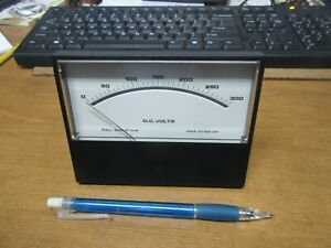 Analog Panel Meter Dc Volts 0 300 Full Scale 1ma sifam