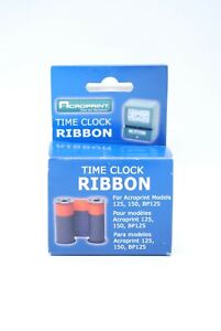sealed Acroprint Time Clock Ribbon 125 150 Bp125
