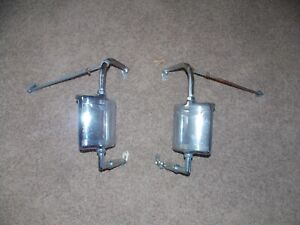 Ford Chevy Dodge Pickup Truck West Coast Towing Mirrors Vintage Retro Rat Rod