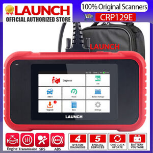 Launch X431 Crp129e Obd2 Diagnostic Scanner Code Reader Epb Sas Oil Tpms Reset