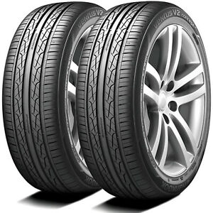 2 New Hankook Ventus V2 Concept2 225 45r19 96w Xl As A s High Performance Tires