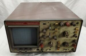 Vintage beckman circuitmate 9020 20 Mhz Oscilloscope Fires Up Un tested
