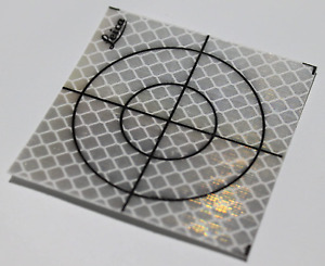 60x60mm Reflective Tape Survey Targets 20 pack