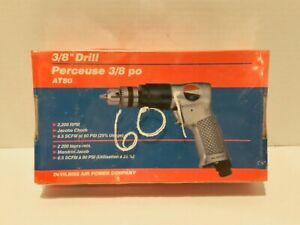 Devilbiss At80 3 8 Pneumatic Air Drill New In Box